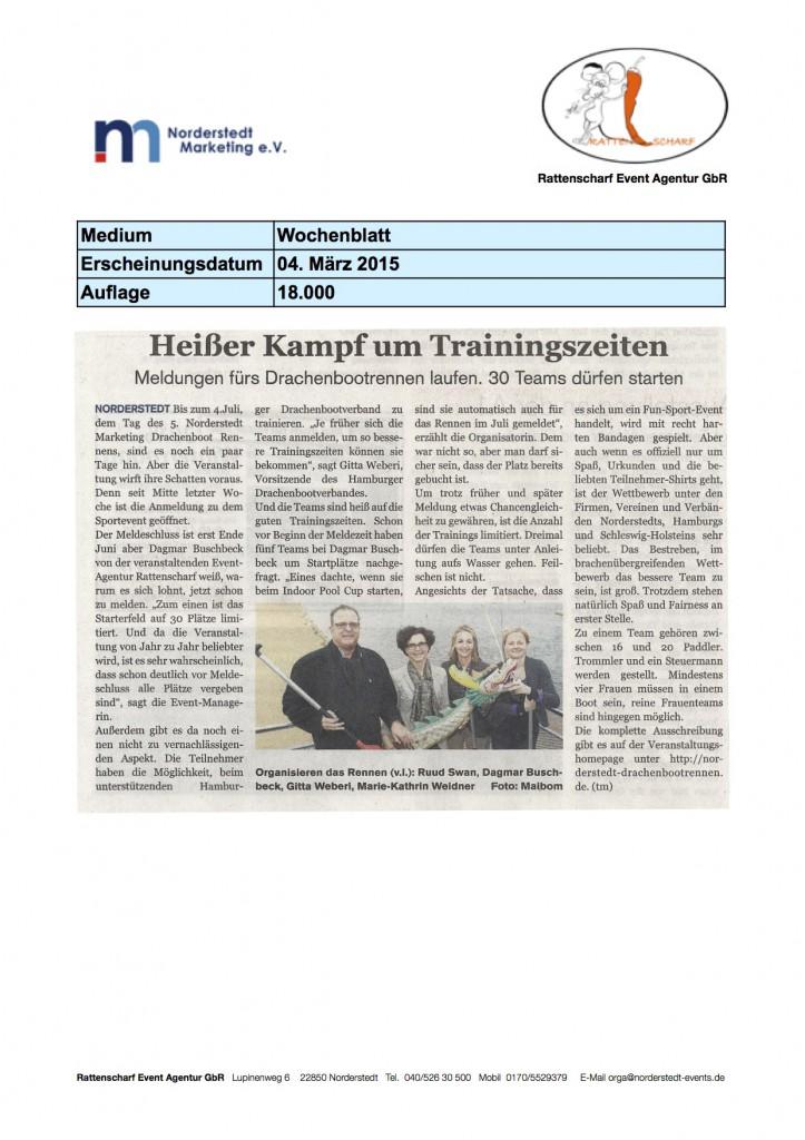 Wochenblatt 4.3. 2015