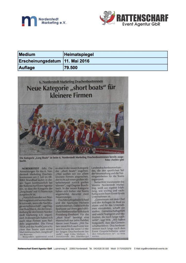 Heimatspiegel 11. Mai 2016