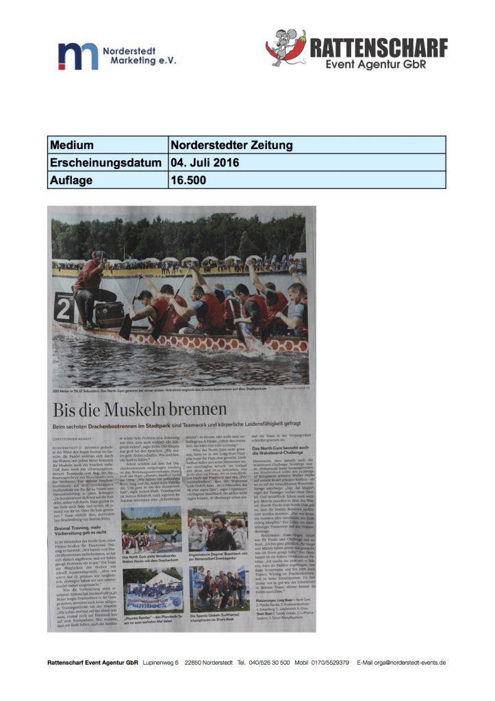 Norderstedter Zeitung 04. Juli 2016