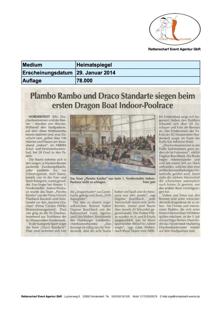 Heimatspiegel 29. Januar 2014