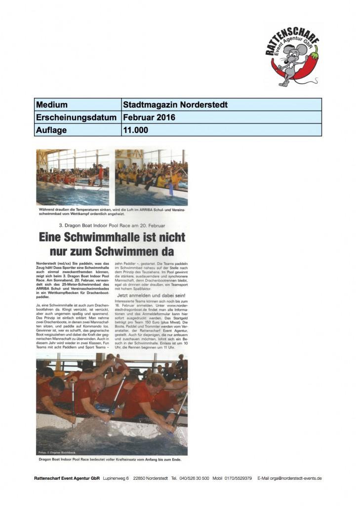 Stadtmagazin Norderstedt