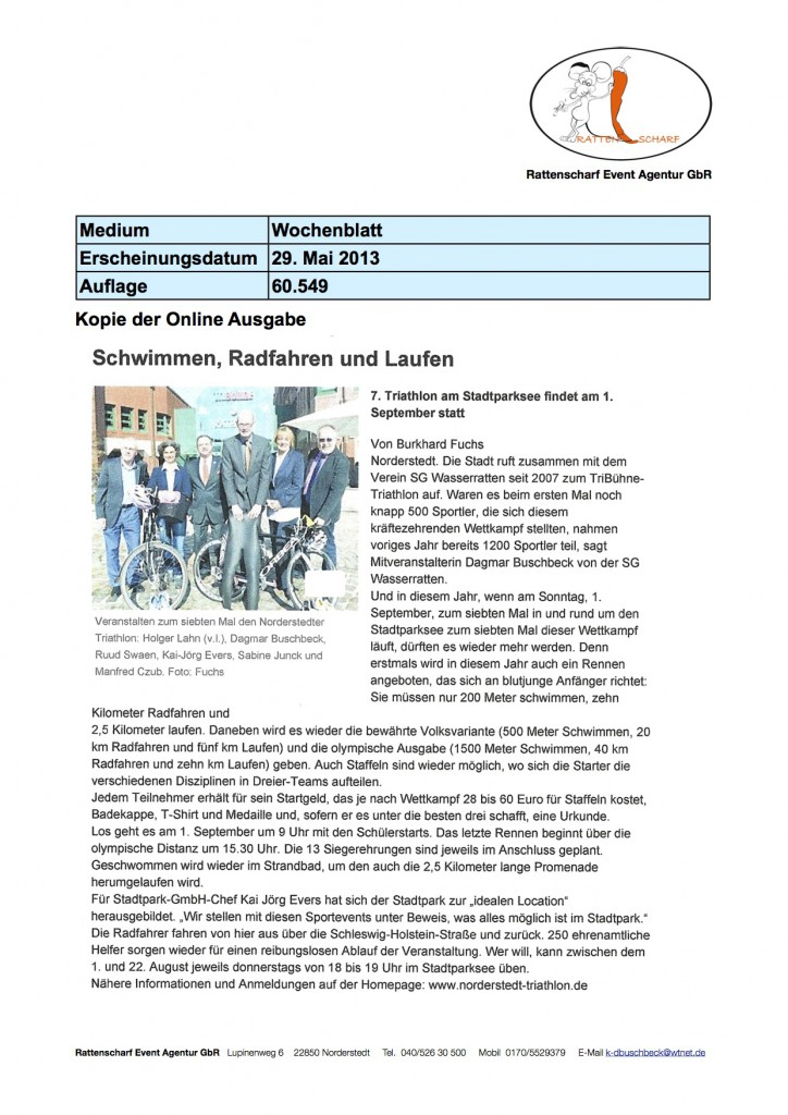 Wochenblatt 29.5.2013