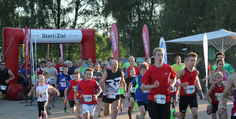 Hamburg Airport Abendlauf 31. August 2016