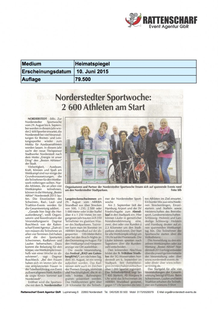 Heimatspiegel 10. Juni 2015