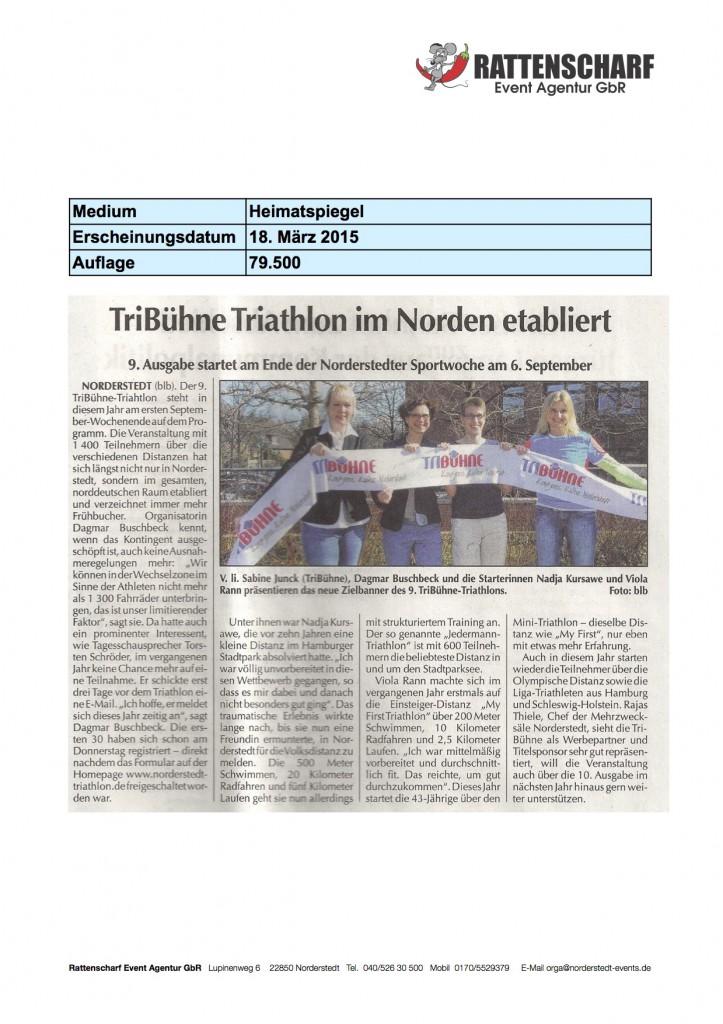 Heimatspiegel 18. März 2015
