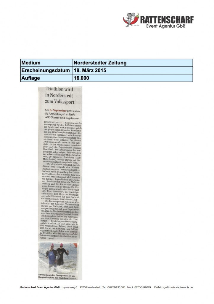 Norderstedter Zeitung 18. März 2015 Kopie