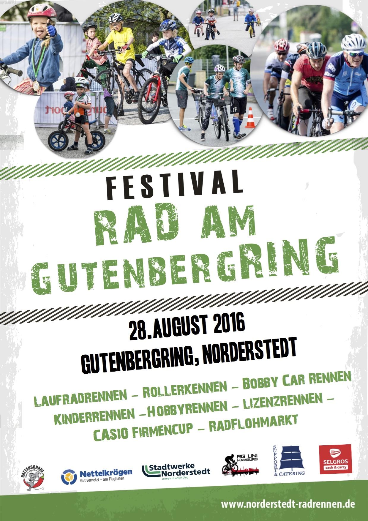 Plakat Radrennen 2016
